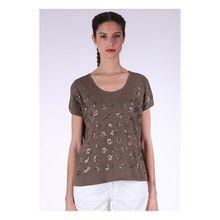 Kaporal T-Shirt Flex Treill im stylischen Design T-Shirts grün Damen