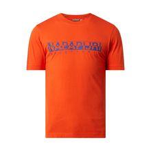 T-Shirt mit Logo-Print Modell 'Solanos'