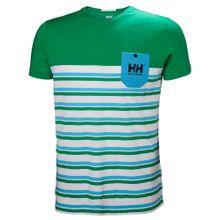 HELLY HANSEN T-Shirt 'Fjord' hellblau / grün / weiß