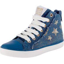 GEOX Sneakers High 'Kilwi' blau / gold