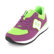 Buffalo London 6025-162 Skin Suede Nylon 145950 Damen Sneaker, Lila (Violet 24), EU 38