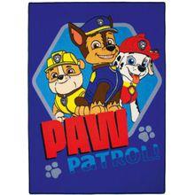 "Kinderteppich PAW Patrol ""Ready"", 95 x 133 cm dunkelblau"