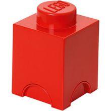 LEGO Aufbewahrungsdose Storage Brick rot