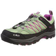 CMP Campagnolo Unisex-Erwachsene Rigel Trekking-& Wanderstiefel, Grün (Linfa-Hot Pink), 40 EU