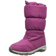 Kamik BOMBSHELL Unisex-Kinder Warm gefütterte Schneestiefel, Pink (BERRY/BER), 34 EU