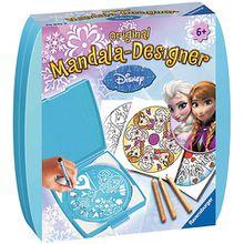 Mandala-Designer® Mini Set mit 1 Schablone, Disney Die Eiskönigin