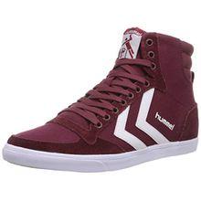 Hummel SL STADIL CANVAS HI, Unisex-Erwachsene Hohe Sneakers, Rot (Cabernet 3661), 42 EU