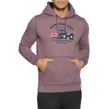 New Zealand Auckland Sweatshirt in rot für Herren