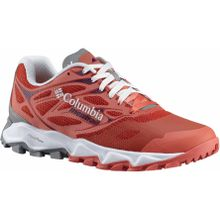 Columbia - Trans Alps F.K.T II Damen Mountain Running Schuh (orange/weiß) - EU 41,5 - US 10,5