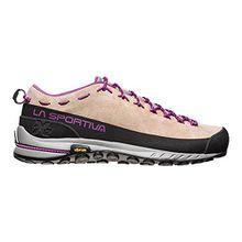 La Sportiva Damen TX2 Leather Woman Trekking-& Wanderhalbschuhe, Mehrfarbig (Sand/Purple 000), 38 EU