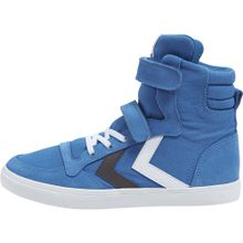 Hummel Sneakers 'Slimmer Stadil' blau / schwarz / weiß