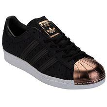 adidas Superstar 80's Metal Toe Damen Sneaker Schwarz