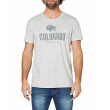 Colorado Cole - Logo T-Shirt aus Bio-Baumwolle in Grau