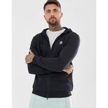 Adidas Originals - Schwarzer Kapuzenpullover mit Trefoil-Logo - Schwarz