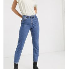 Only - Mom-Jeans in 90er-Waschung - Blau