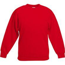 Fruit Of The Loom Kinder Unisex Pullover Klassik 80/20 (9/11 Jahre) (Rot)