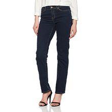 VERO MODA Damen Vmfifteen NW Straight Jeans BA023 Noos, Blau (Dark Blue Denim), W28/L32 (Herstellergröße:28.0)