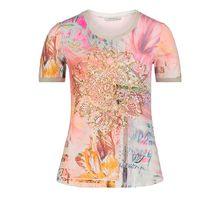 Betty Barclay Basic-Shirt mit Aufdruck beige Damen