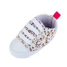 ROPALIA Kids Babyschuhe weiche Sohle beil?ufige Baumwolle Sneaker Prewalker