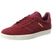 adidas Damen Gazelle Sneakers, Schwarz (Collegiate Burgundy/Mystery Ruby F17/Gold Met.), 39 1/3 EU