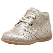 Bisgaard Baby Mädchen Lauflernschuhe Sneaker, Silber (01 Silver), 18 EU