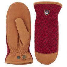 Hestra - Women's Ludvika - Handschuhe Gr 6;7;8;9 schwarz/grau;grau;braun/rot