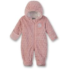 Sanetta Baby Fleece-Overall rose