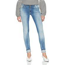 Replay Damen Skinny Jeans Luz, Gr. W30/L30 (Herstellergröße: 30), Blau (Blue Denim 10)