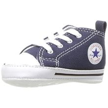 Converse First Star Toile, Unisex Kinder Sneaker, Marineblau, 20 EU