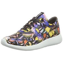 ESPRIT Cloudi Print LU, Damen Sneakers, Blau (410 Bright Blue), 39 EU