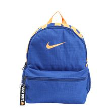 Nike Sportswear Rucksack 'Nike Brasilia JDI' blau / orange