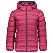 CMP Mädchen Daunenjacke Zip Hood Jacket 3Z19675P Hot Pink-Magenta 176