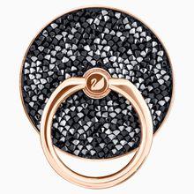 Glam Rock Ring Sticker, schwarz, Metallmix