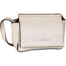 Calvin Klein Umhängetasche Stitch Flap Crossbody Light Sand