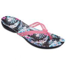 Crocs - Women's Isabella Graphic Flip - Sandalen Gr W6 türkis;rosa;blau