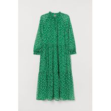 H & M - H & M+ Chiffonkleid - Green - Damen