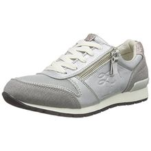 TOM TAILOR Damenschuhe, Damen Sneakers, Silber (Silver), 39 EU