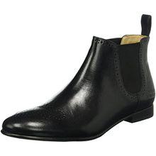 Melvin & Hamilton Sally 16, Damen Chelsea Boots, Schwarz (Salerno Black/Ela.Black/HRS), 38 EU