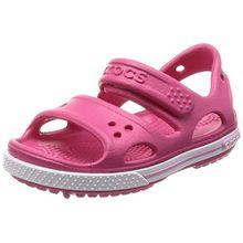 crocs Crocband II Sandal Kids, Unisex - Kinder Sandalen, Pink (Paradise Pink/Carnation), 23/24 EU