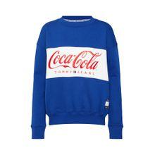 Tommy Jeans Sweatshirt 'TOMMY X COCA-COLA' blau