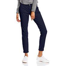 ONLY Damen Chino Hose onlPARIS LOW SKINNY PANT NOOS, Gr. 36/L32 (Herstellergröße: 36), Blau (Navy Blazer)