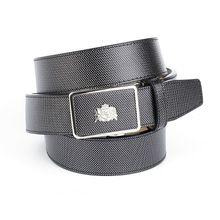 Anthoni Crown Ledergürtel für Freizeithosen Ledergürtel anthrazit Herren