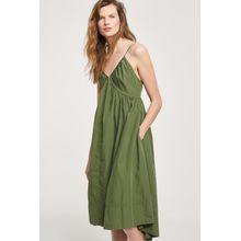 CLOSED Trägerkleid aus Popeline jungle