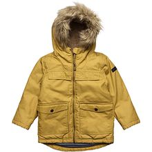 outdoor jacket parka pkt - Jacken gelb Jungen Kleinkinder