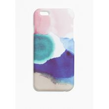 Cloud-Print Iphone 6 Case - Pink