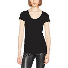 G-STAR RAW Damen T-Shirt Base R T Wmn Cap SL, Schwarz (Black 990), Large