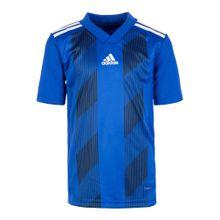ADIDAS PERFORMANCE Fußballtrikot 'Striped 19' blau / schwarz / weiß
