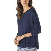 Mey Night2day Night2day Damen Homewear-Oberteile Blau XXL
