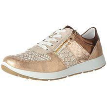 Jenny Damen Glendale Sneaker, Beige (Rose/Plush,Bronce/Rosegold), 38 EU