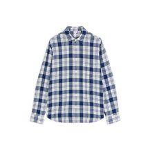Shirt 5 Seersucker Check - Blue